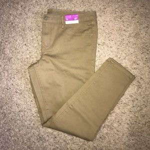 Mossimo Tan Jeggings